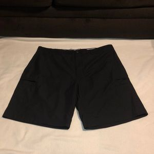 Callaway Golf Shorts 100% Polyester Size 40 Black